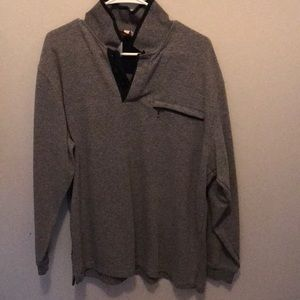 Grey pull over sweater